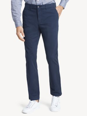tommy hilfiger blue chinos