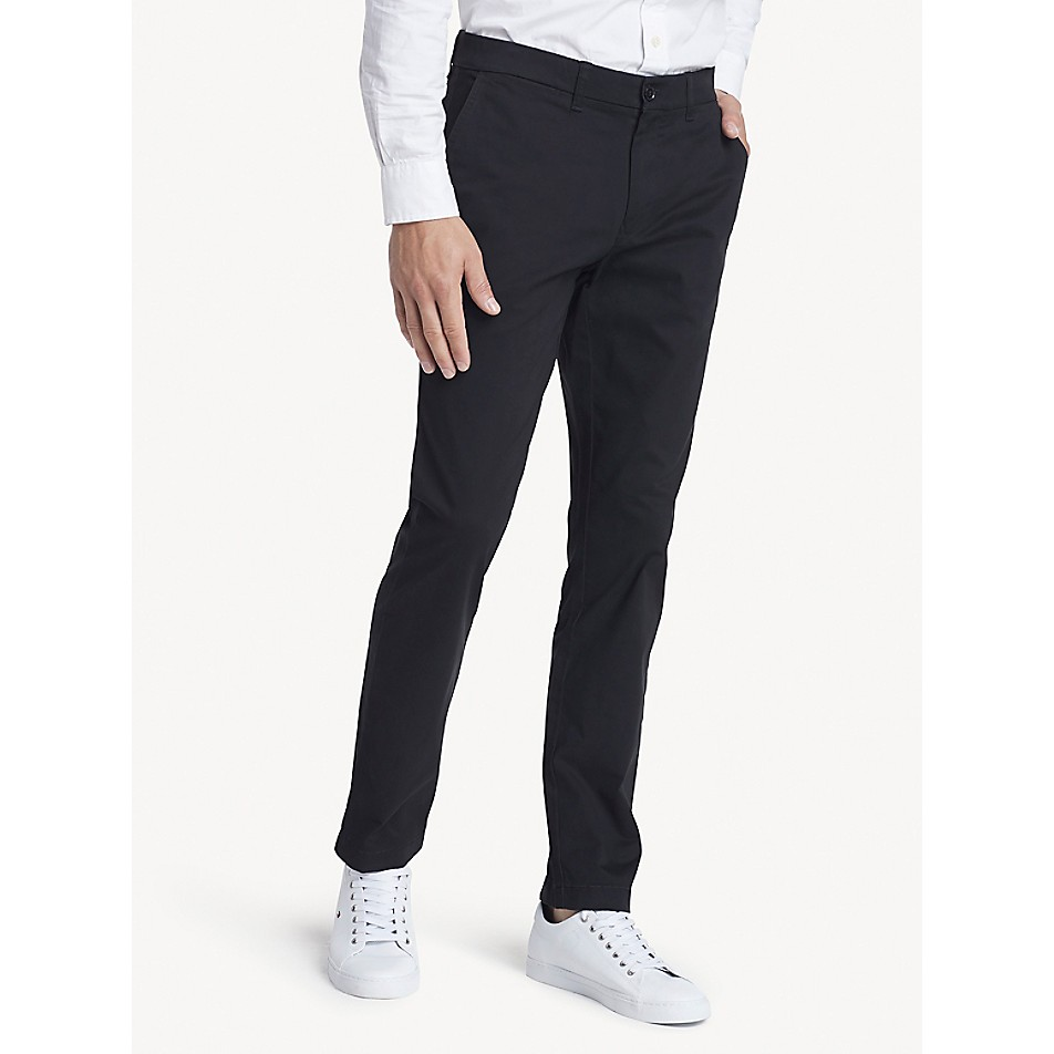 Slim Fit Chino In Stretch Cotton