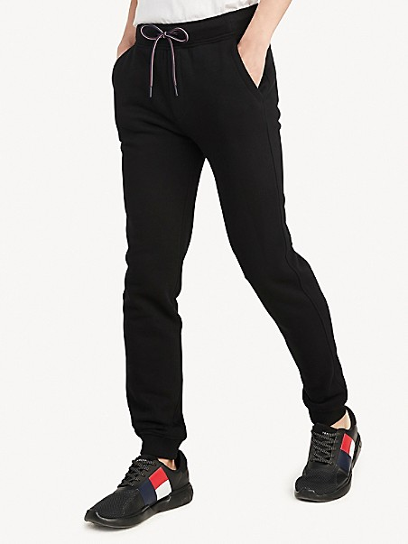 타미 힐피거 스웻팬츠 Tommy Hilfiger Essential Sweatpant,deep black