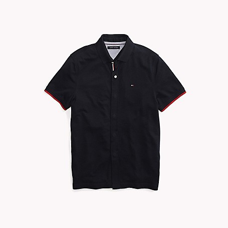 87e7827d8 Custom Fit Solid Polo   Tommy Hilfiger