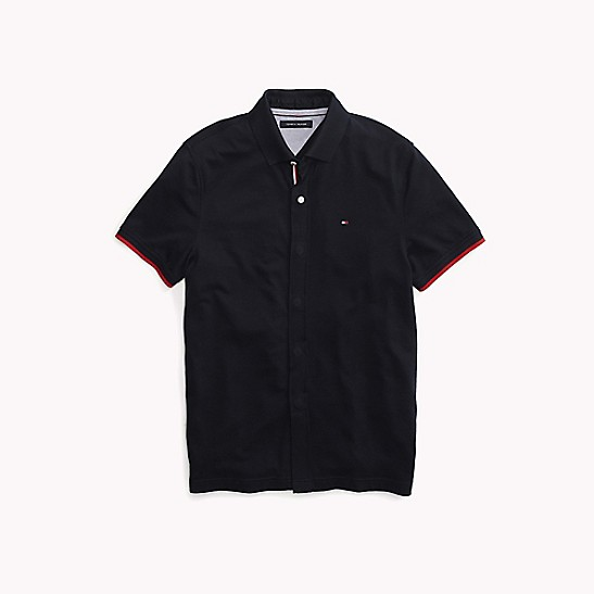 825bad3c Custom Fit Solid Polo | Tommy Hilfiger