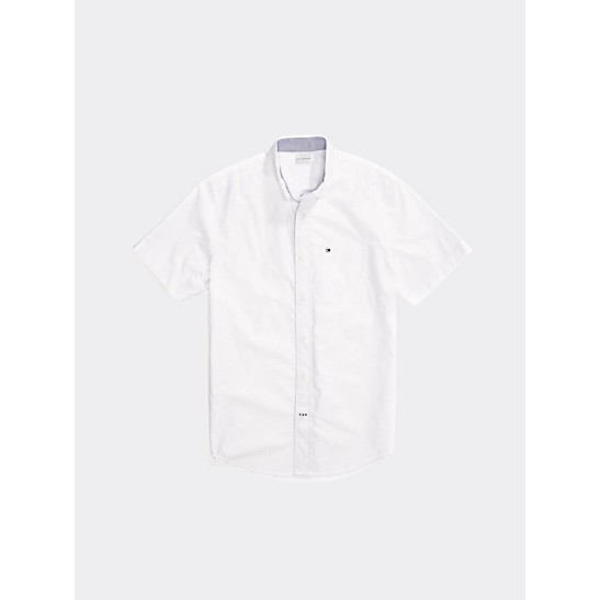 94396fcbe7 Slim Fit Short Sleeve Shirt | Tommy Hilfiger