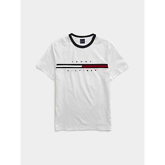 Signature Stripe Tommy T Shirt | Tommy Hilfiger