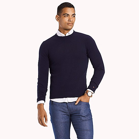 c701640364ccdd Cashmere Crewneck Sweater | Tommy Hilfiger