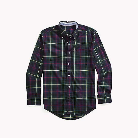 ecc3a2f5 Custom Fit Plaid Shirt | Tommy Hilfiger