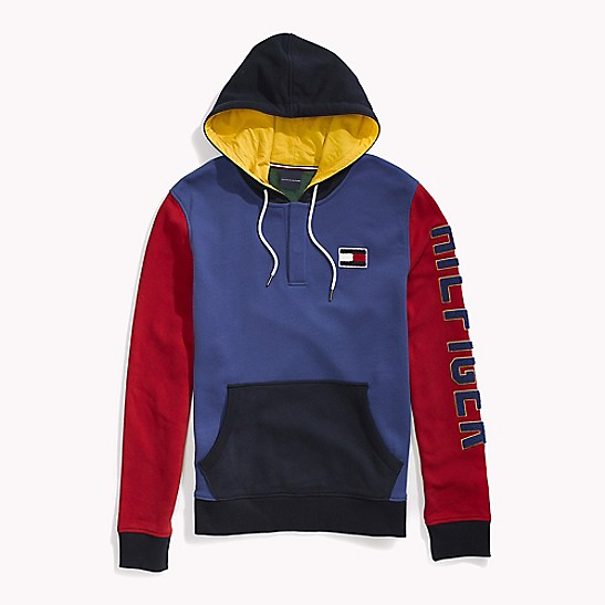 cb24f4892 Colorblock Popover Hoodie | Tommy Hilfiger