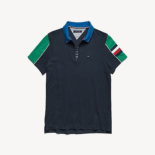 ba7368be0 Custom Fit Pique Cotton Polo | Tommy Hilfiger