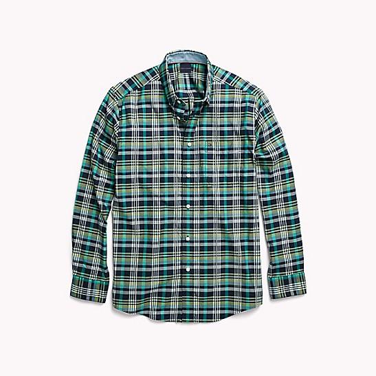 b58dc1a4 Regular Fit Plaid Shirt | Tommy Hilfiger