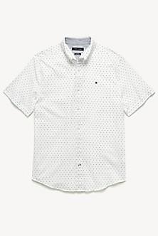 8a8aa2e601f7 Short-Sleeve Microprint Shirt