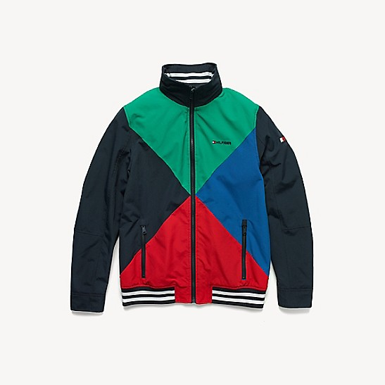 951102d7 Colorblock Yacht Jacket | Tommy Hilfiger