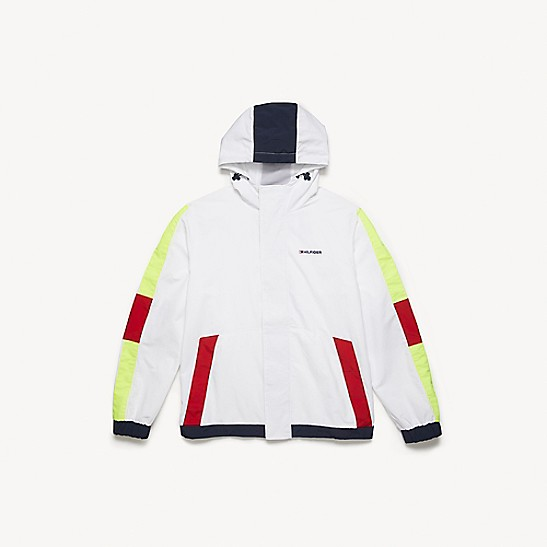 Shop Tommy Hilfiger Mens Jacket Water Resistant Hooded