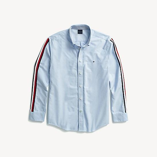e1c7c263 Custom Fit Icon Stripe Shirt | Tommy Hilfiger