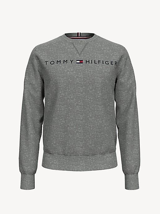 TOMMY HILFIGER Men/'s Crew Neck Pullover Sweatshirt M-L-XL-XXL VARIETY