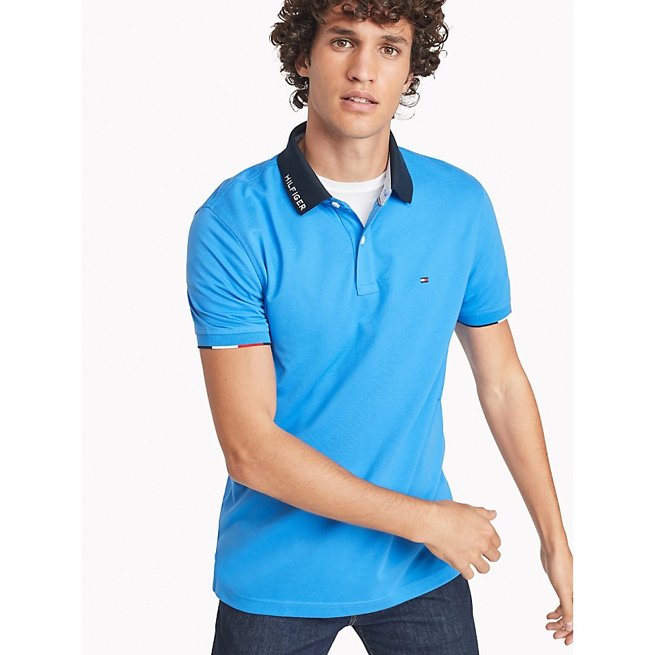 Custom Fit Polo In Pique Cotton