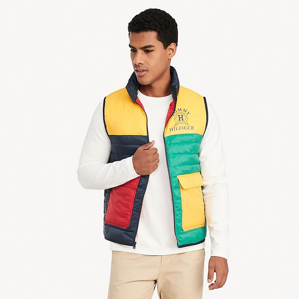 NEW TO SALE Colorblock Vest