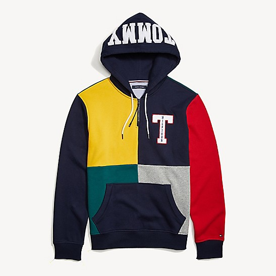 tommy hilfiger hoodie signature