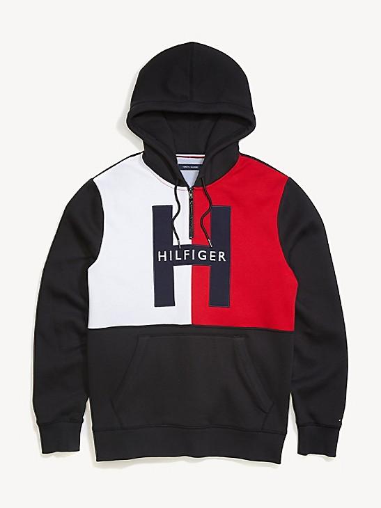Tommy Hilfiger Mens Hooded Sweatshirt