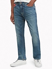 Tommy Hilfiger Mens Varsity Freedom Relaxed Jeans Blue 34x30