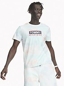 Tommy Hilfiger Sporty Mesh Tape S//S Tee T-Shirt B/éb/é Fille