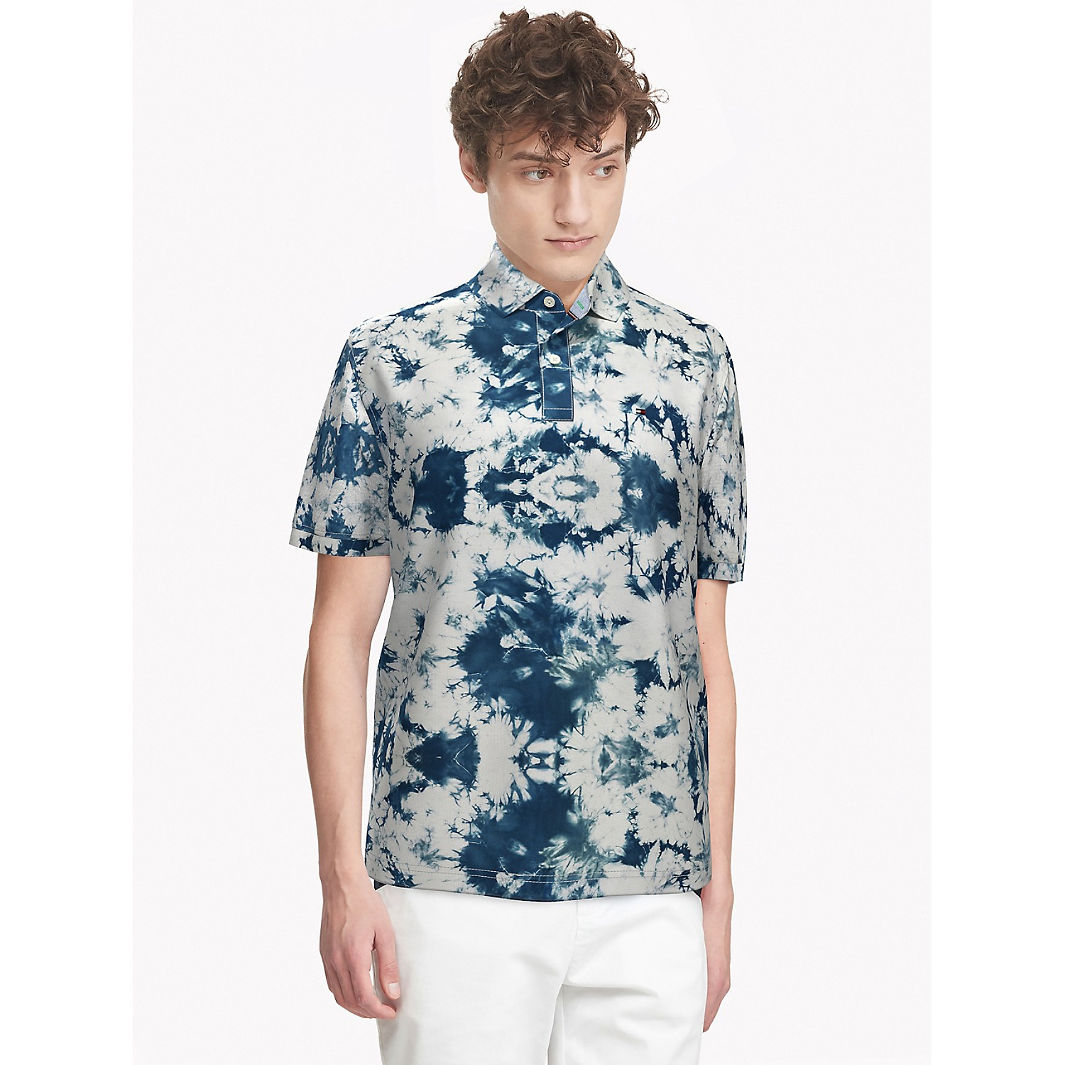 TOMMY HILFIGER Classic Fit Essential Tie-Dye Polo