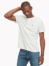 Essential Henley T-Shirt   Tommy Hilfiger