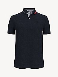TOMMY HILFIGER Essential Custom Fit Solid Polo