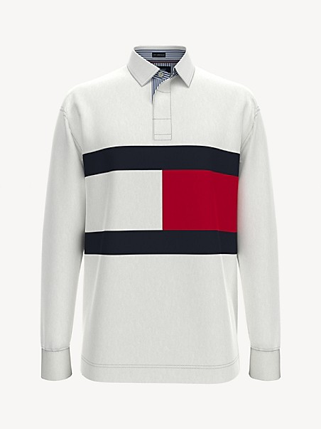 TOMMY HILFIGER 35th Anniversary Collection Flag Rugby