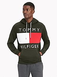 타미 힐피거 맨 후드티 Tommy Hilfiger Essential Flag Hoodie,CAMO GREEN