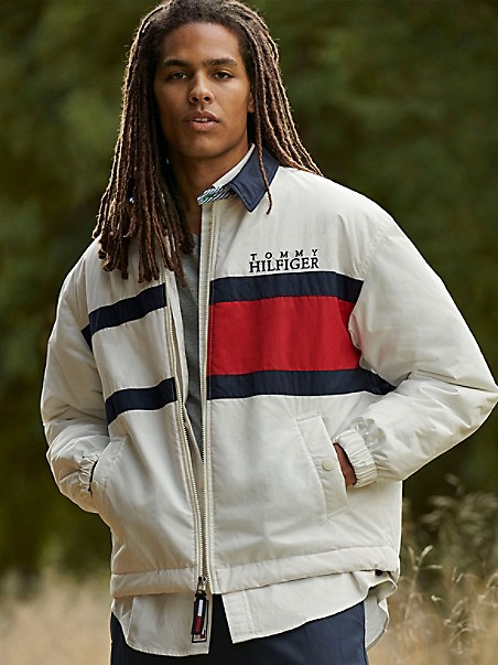 TOMMY HILFIGER 35th Anniversary Collection Flag Jacket