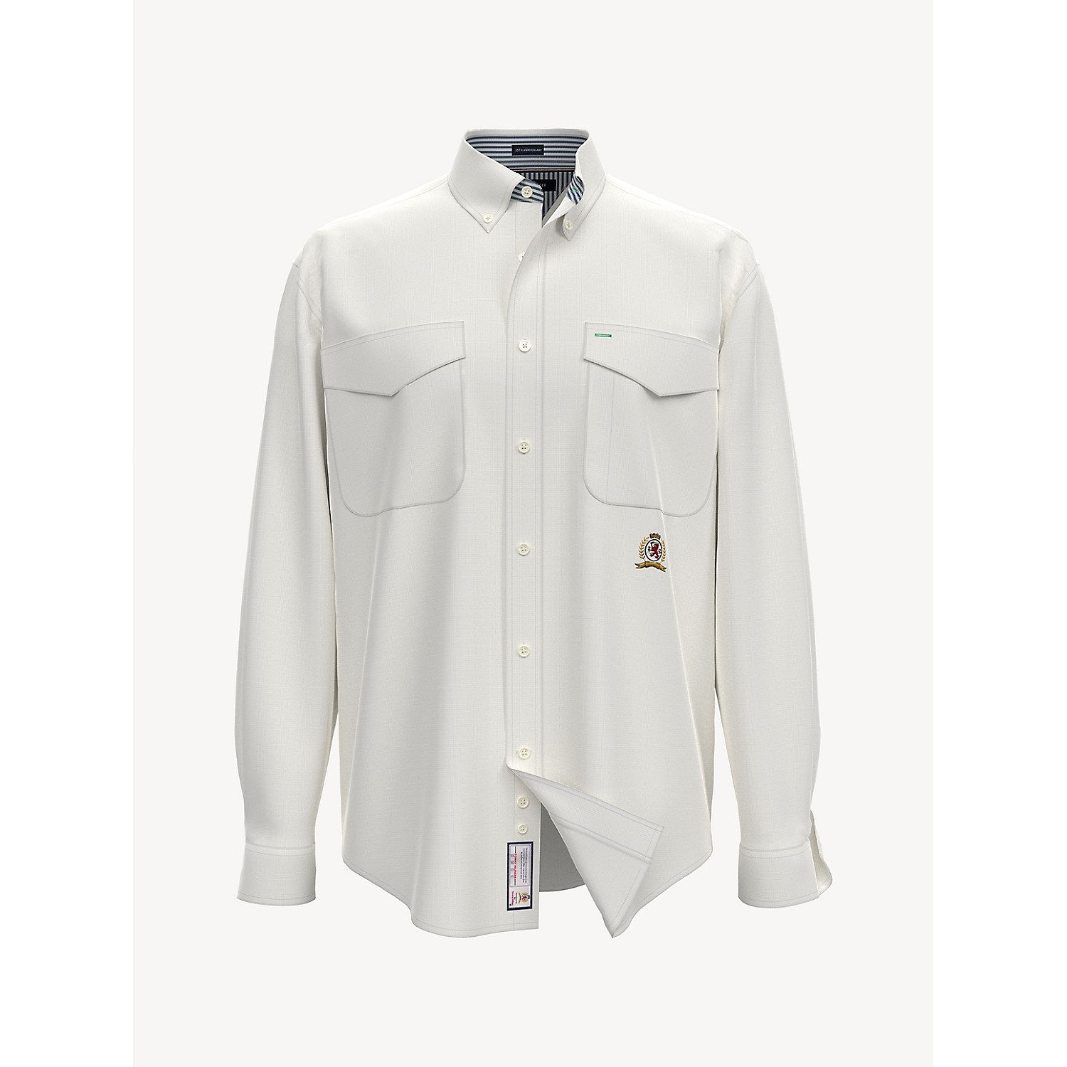 TOMMY HILFIGER 35th Anniversary Crest Oxford Shirt