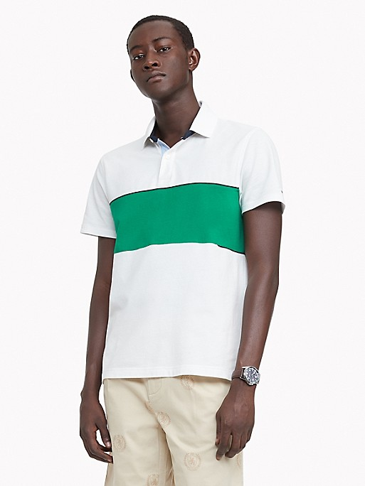 NEW TO SALE Custom Fit Essential Block Polo