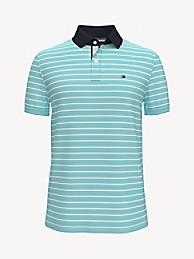 TOMMY HILFIGER Custom Fit Essential Stripe Polo