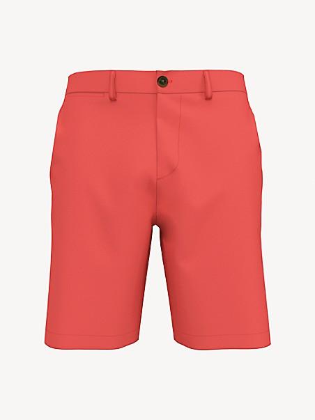 타미 힐피거 반바지 Tommy Hilfiger Regular Fit Essential 9 Comfort Stretch Short,cranberry