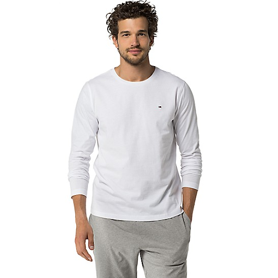 fde86364 Cotton Icon Long-Sleeve Tee | Tommy Hilfiger