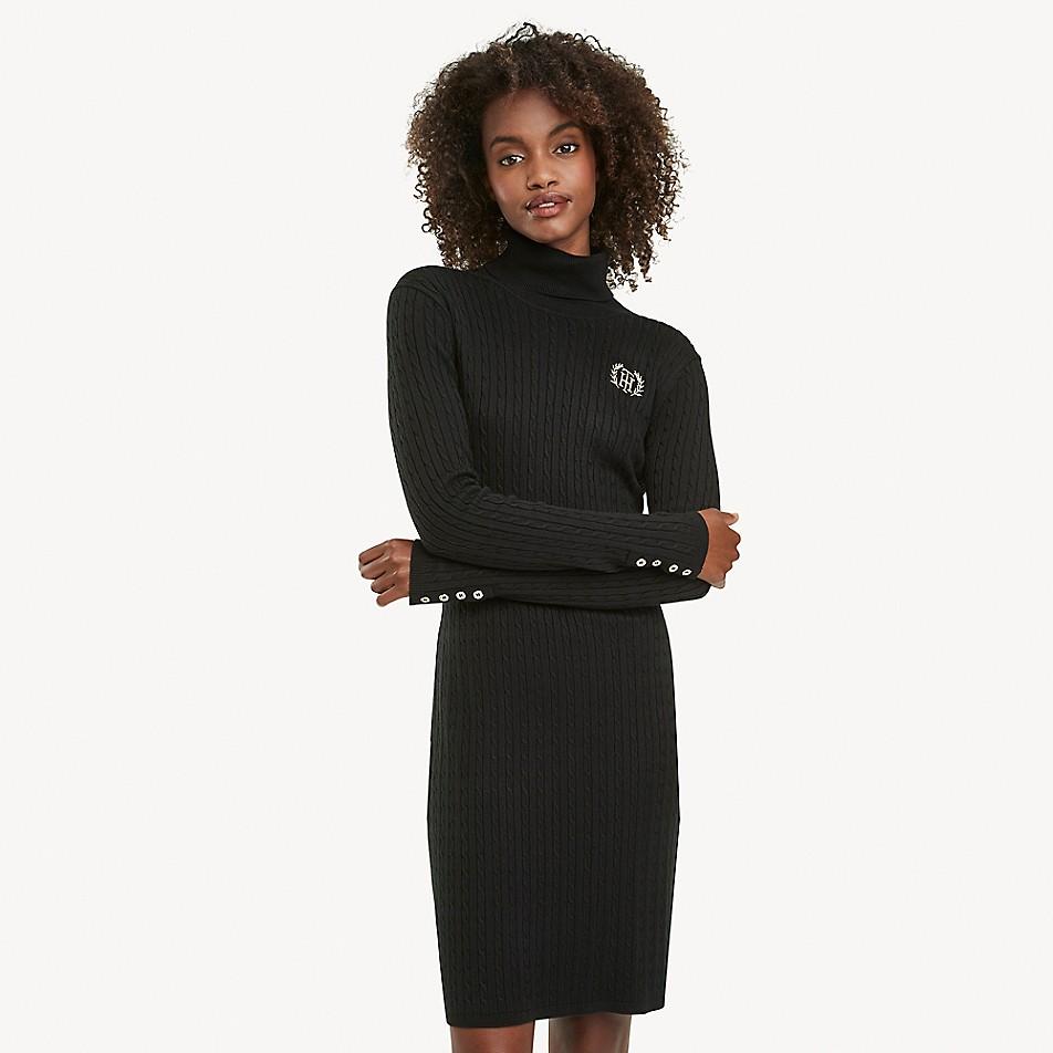Essential Turtleneck Sweater Dress
