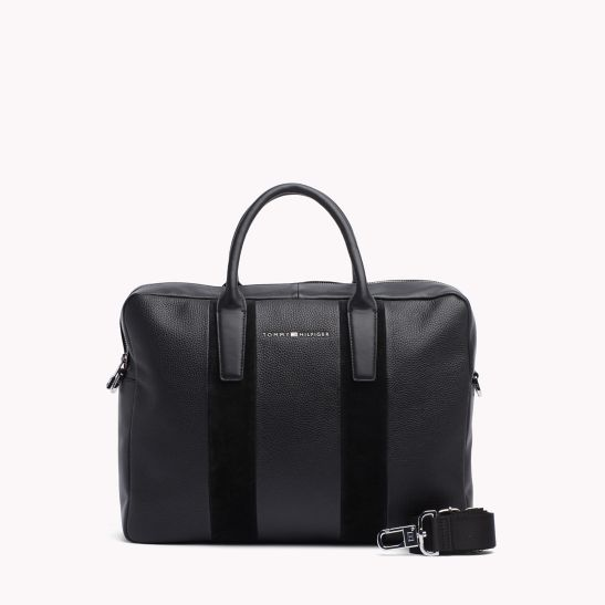 Leather Tote Bag - Sales Up to -50% Tommy Hilfiger