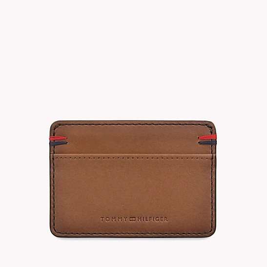 huge selection of 252bf 2750a Leather Card Case | Tommy Hilfiger
