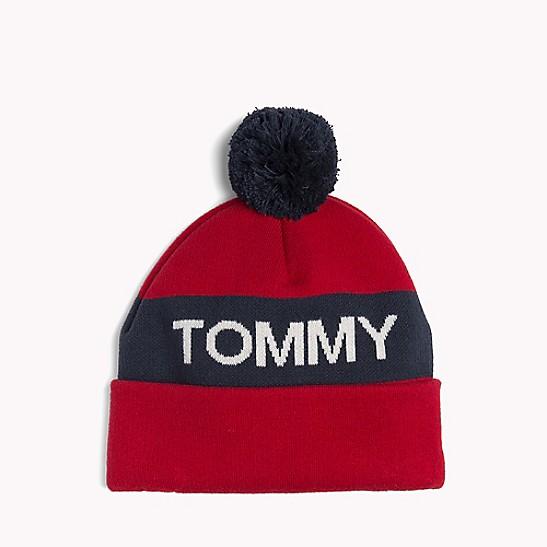 5af1b353b Rugby Stripe Beanie | Tommy Hilfiger