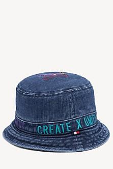dedfc60df06 Lewis Hamilton Denim Bucket Hat
