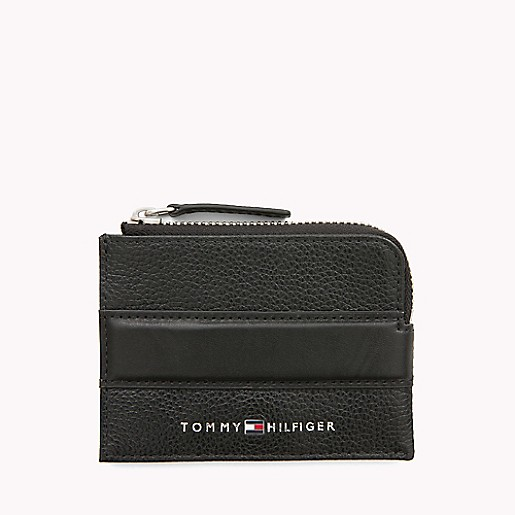 newest 430e4 c6cad Signature Leather Card Case | Tommy Hilfiger