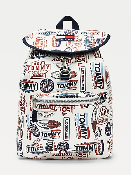TOMMY JEANS Logo Print Backpack