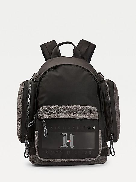 TOMMY HILFIGER Lewis Hamilton Fleece Detail Backpack