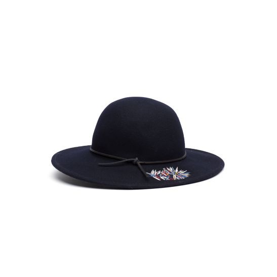 Felt Fedora - Sales Up to -50% Tommy Hilfiger