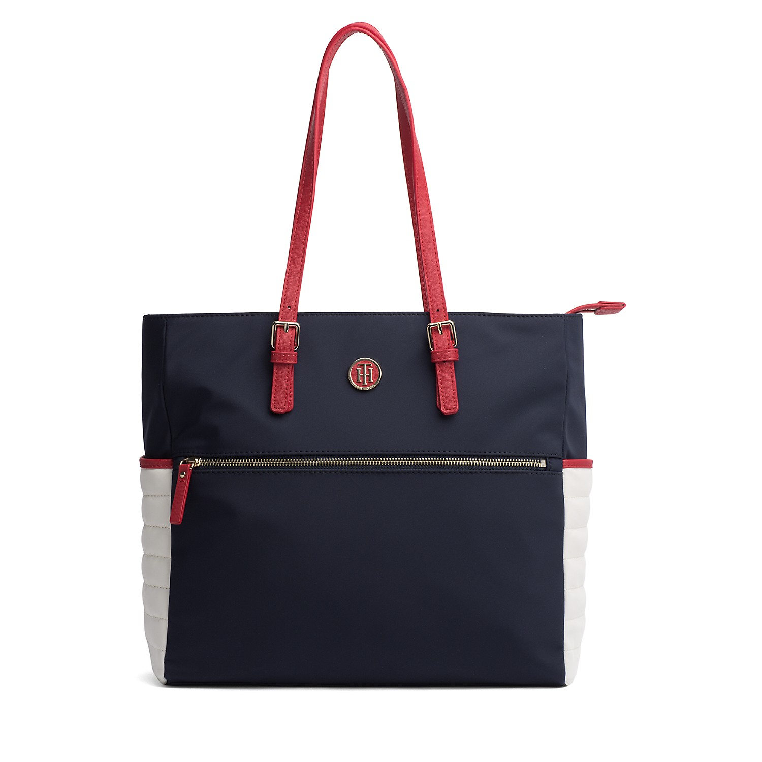 Tommy Hilfiger Colorblock Nylon Tote