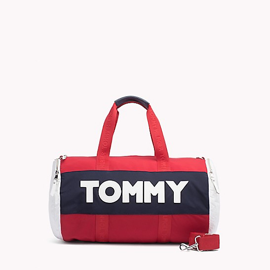 Tommy Jeans Logo Duffle Bag - Sales Up to -50% Tommy Hilfiger wyk9nRG