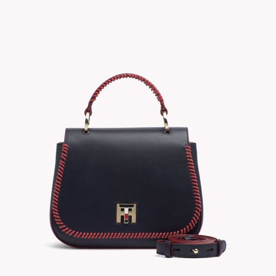 Leather Chain Strap Bag - Sales Up to -50% Tommy Hilfiger