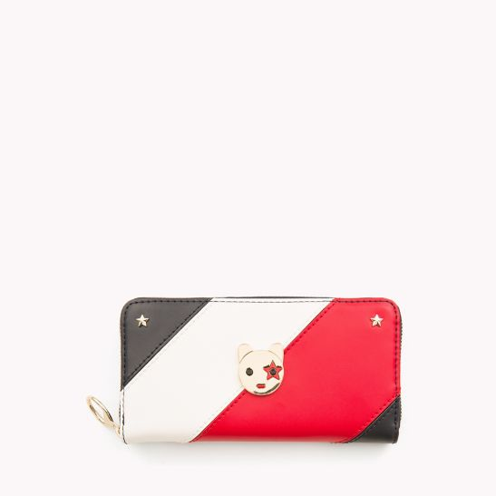 Mascot Leather Wallet - Sales Up to -50% Tommy Hilfiger