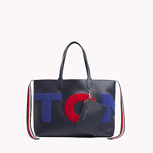 d29f9193c8 Iconic Tommy Logo Tote   Tommy Hilfiger