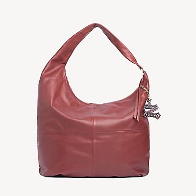 Zendaya Pure Leather Hobo Bag
