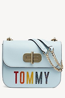 2f16502902b78 Tommy Shimmer Turnlock Crossbody